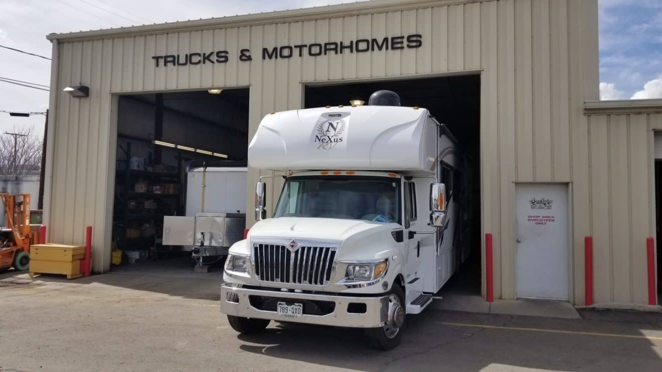 motorhome repair and service   scotty's complete car care center